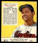 1953 Red Man #14 AL Early Wynn  Front Thumbnail