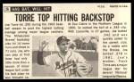 1964 Topps Giants #26  Joe Torre   Back Thumbnail