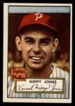 1952 Topps #213  Vernal 'Nippy' Jones  Front Thumbnail