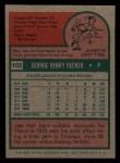 1975 Topps Mini #102  Joe Decker  Back Thumbnail