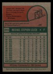 1975 Topps Mini #245  Mickey Lolich  Back Thumbnail