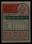 1975 Topps Mini #336  Rennie Stennett  Back Thumbnail