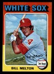 1975 Topps Mini #11  Bill Melton  Front Thumbnail