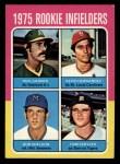 1975 Topps Mini #623   -  Keith Hernandez / Phil Garner / Bob Sheldon / Tom Veryzer Rookie Infielders Front Thumbnail
