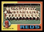 1975 Topps Mini #531   -  Sparky Anderson Reds Team Checklist Front Thumbnail