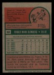 1975 Topps Mini #68  Ron Blomberg  Back Thumbnail