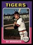1975 Topps Mini #439  Ed Brinkman  Front Thumbnail