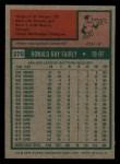 1975 Topps Mini #270  Ron Fairly  Back Thumbnail