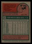 1975 Topps Mini #147  Pedro Garcia  Back Thumbnail
