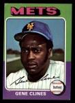 1975 Topps Mini #575  Gene Clines  Front Thumbnail
