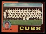 1975 Topps Mini #638   -  Jim Marshall Cubs Team Checklist Front Thumbnail