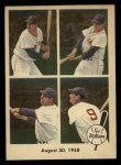 1959 Fleer #65   -  Ted Williams  August 30 1958 Front Thumbnail