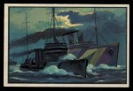 1954 Bowman U.S. Navy Victories #7   Destroyers Convoy Troopships Front Thumbnail