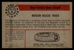 1953 Bowman Firefighters #56   Modern Rescue Truck - American LaFrance Back Thumbnail