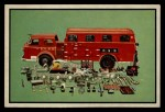 1953 Bowman Firefighters #56   Modern Rescue Truck - American LaFrance Front Thumbnail