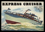 1955 Topps Rails & Sails #135   Express Cruiser Front Thumbnail