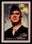 1953 Topps Fighting Marines #42   General A.A. Vandergrift Front Thumbnail
