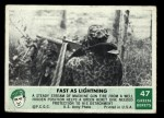 1966 Philadelphia Green Berets #47   Fast As Lightning Front Thumbnail