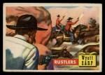 1956 Topps Round Up #37   -  Wyatt Earp Rustlers Front Thumbnail