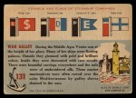 1955 Topps Rails & Sails #131   War Galley Back Thumbnail