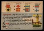 1955 Topps Rails & Sails #149   Fishing Junk Back Thumbnail