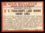 1965 Philadelphia War Bulletin #43   Ready to Fight Back Thumbnail