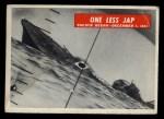 1965 Philadelphia War Bulletin #34   One Less Jap Front Thumbnail