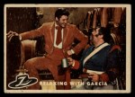 1958 Topps Zorro #80   Relaxing With Gracie Front Thumbnail