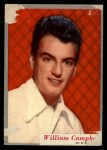 1953 Topps Who-Z-At Star #31  William Campbell  Front Thumbnail
