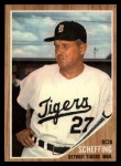 1962 Topps #416  Bob Scheffing  Front Thumbnail