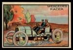 1953 Bowman Antique Autos #41   Mercedes Racer Front Thumbnail