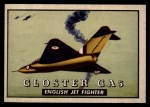 1952 Topps Wings #132   Gloster GA 5 Front Thumbnail
