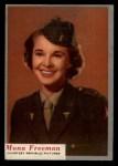 1953 Topps Who-Z-At Star #73  Mona Freeman  Front Thumbnail