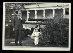 1964 Topps JFK #71   Jackie & John Jr. Watch Military Cer. Front Thumbnail