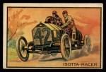 1953 Bowman Antique Autos #34   Isotta-Racer Front Thumbnail