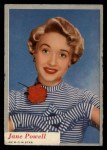1953 Topps Who-Z-At Star #21  Jane Powell  Front Thumbnail