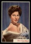 1953 Topps Who-Z-At Star #45  Ava Gardner  Front Thumbnail