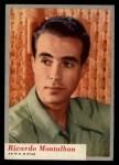 1953 Topps Who-Z-At Star #34  Ricardo Montalban  Front Thumbnail