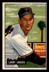 1951 Bowman #162  Larry Jansen  Front Thumbnail