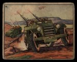 1939 Gum Inc. War News Pictures #58   British Armed Cars Front Thumbnail