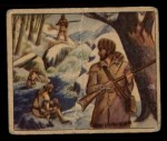1949 Bowman Wild West #4 A  Mountain Men Front Thumbnail