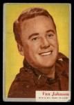 1953 Topps Who-Z-At Star #42  Van Johnson  Front Thumbnail