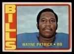 1972 Topps #57  Wayne Patrick  Front Thumbnail