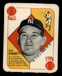 1951 Topps Red Back #6  Allie Reynolds  Front Thumbnail