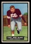 1951 Topps Magic #49  Don McRae  Front Thumbnail