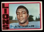 1972 Topps #199  Altie Taylor  Front Thumbnail