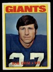 1972 Topps #76  Bob Grim  Front Thumbnail