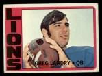 1972 Topps #174  Greg Landry  Front Thumbnail