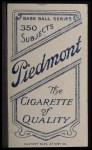 1909 T206  George Merritt  Back Thumbnail