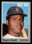 1970 Topps #215  Reggie Smith  Front Thumbnail